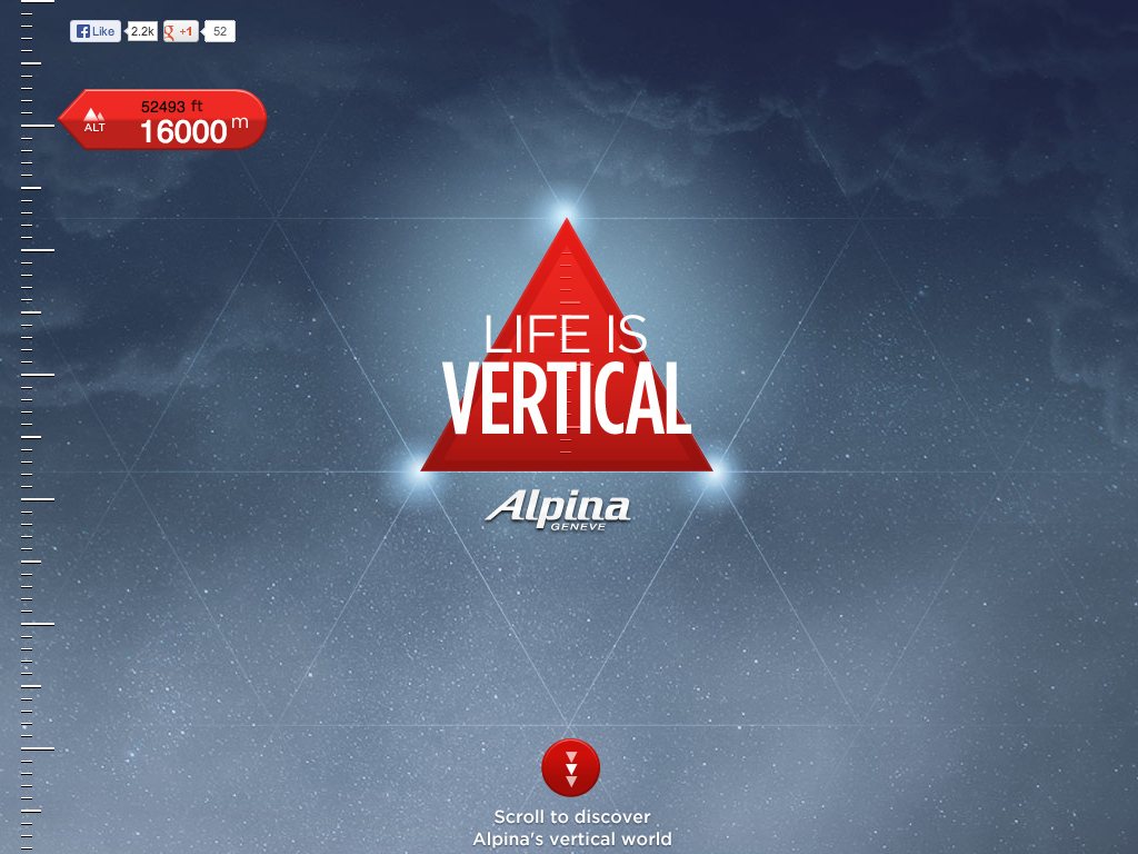 ALPINA – LIFE IS VERTICAL –