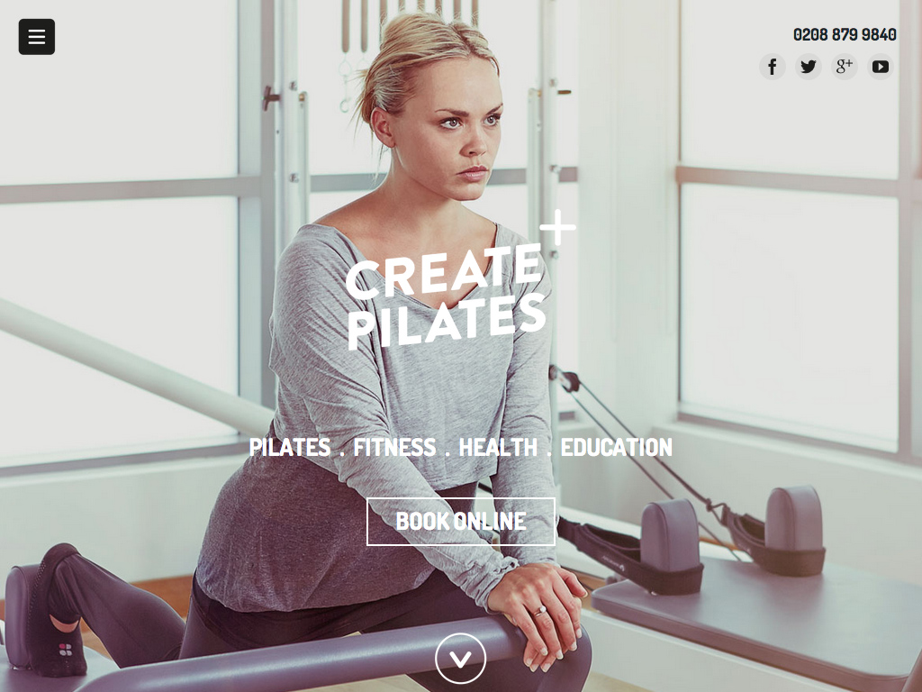 Create Pilates | Pilates Mat Classes, Reformer Classes and Private Lessons in Wimbledon