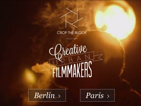 CROP THE BLOCK | Creative filmmakers and videos from Paris and Berlin