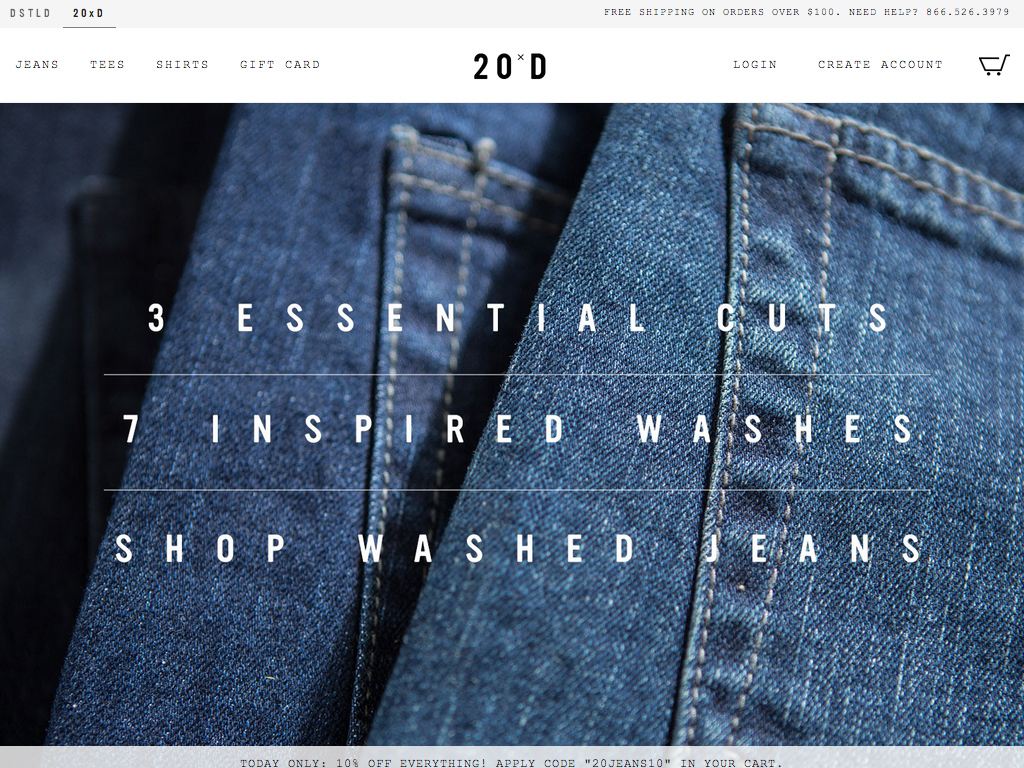 20Jeans x DSTLD | Premium Men's Jeans from $25