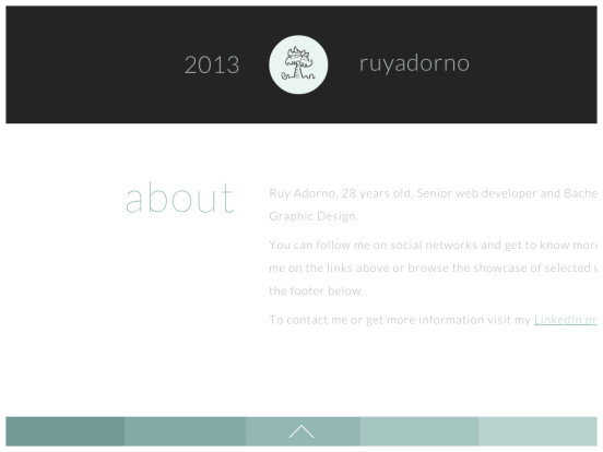Ruy Adorno – Senior web developer Portfolio