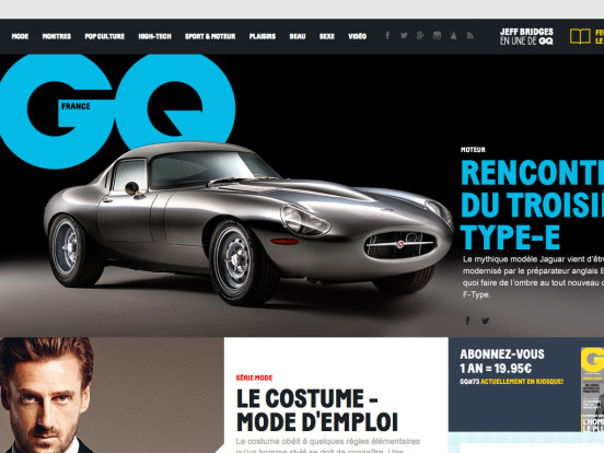 Magazine homme GQ, mode, culture, beauté, lifestyle, Magazine homme GQ | GQ