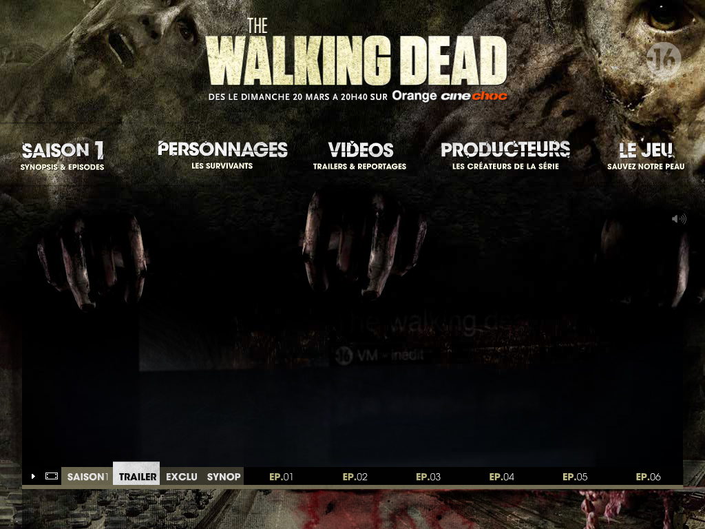 The Walking Dead, dès le dimanche 20 mars à 20h40 sur Orange cinechoc