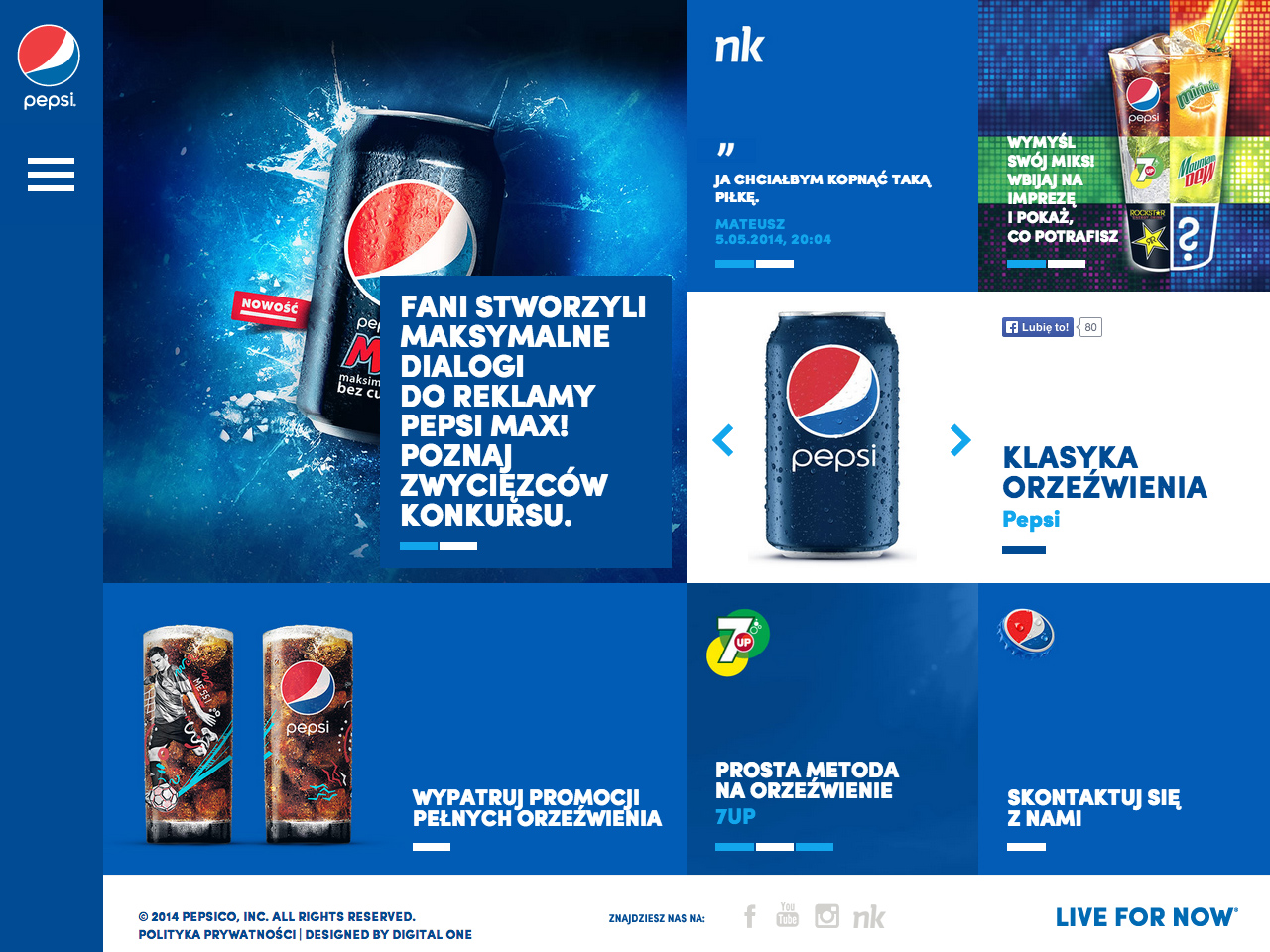 Pepsi / Live for now – www.pepsi.pl