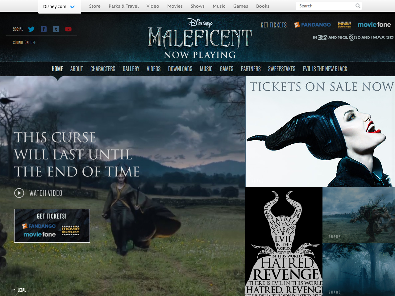 Maleficent | Official Website | Disney Movies