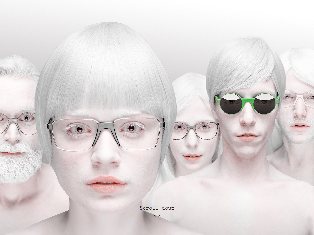 Andy Wolf Eyewear. Handmade in Austria – White Heat