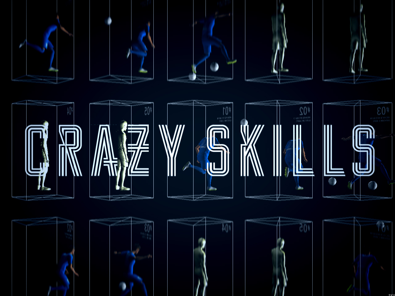 Neymar Jr. CRAZY SKILLS | Panasonic
