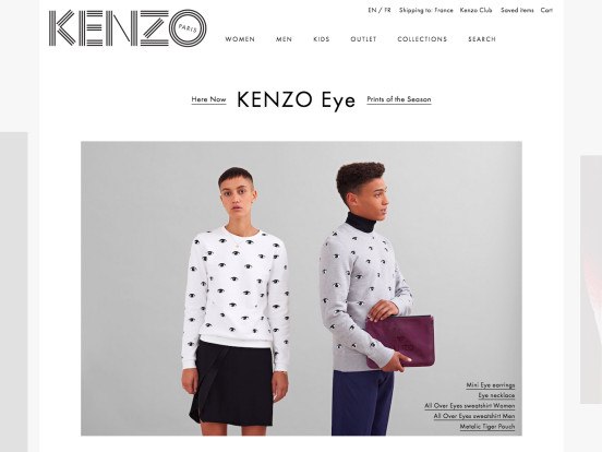 KENZO Clothing | Men, Women & Kids collections