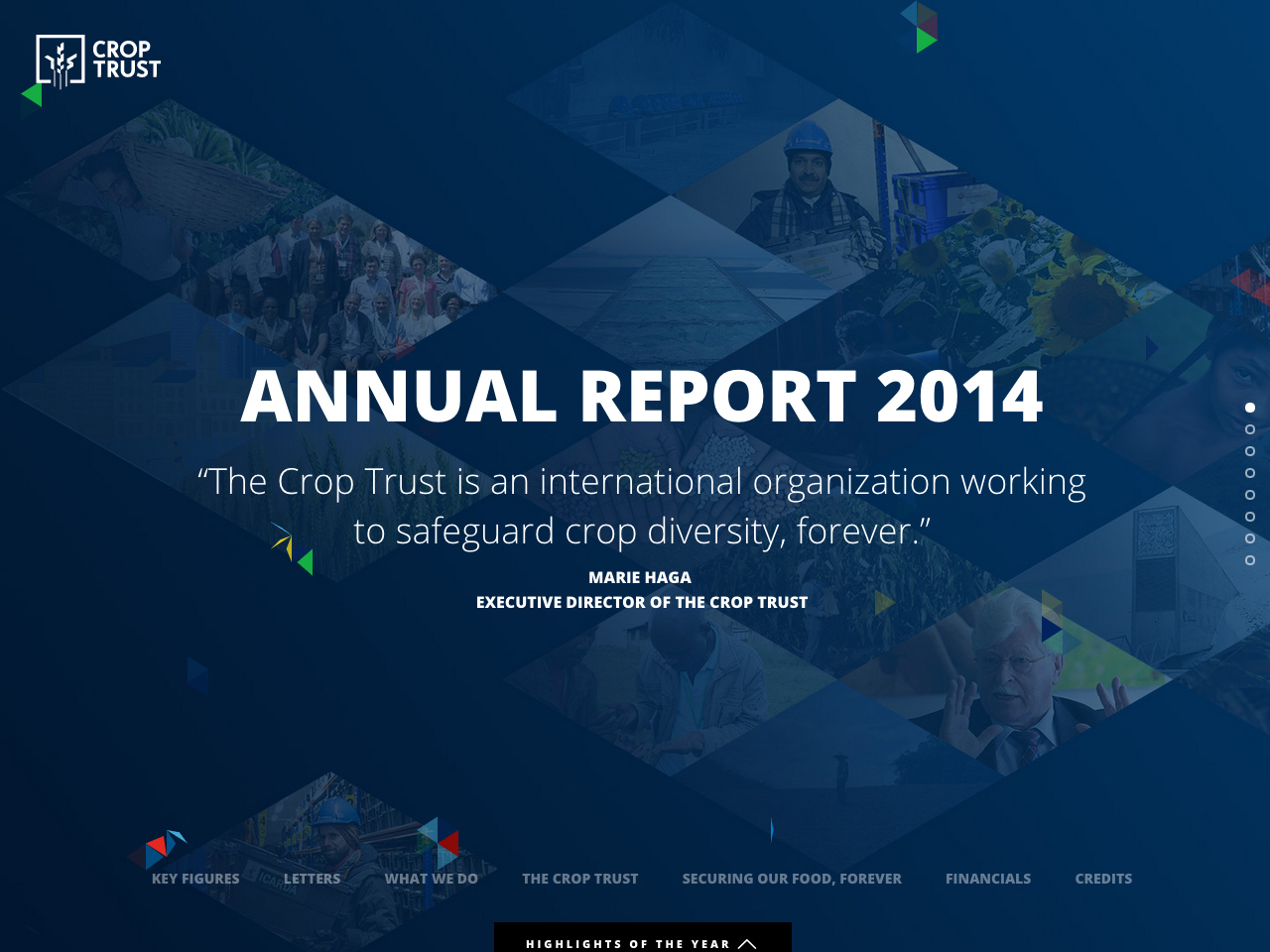 Annual Report 2014 | Crop Trust