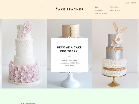 Cake Teacher – Cake Decorating Classes Online