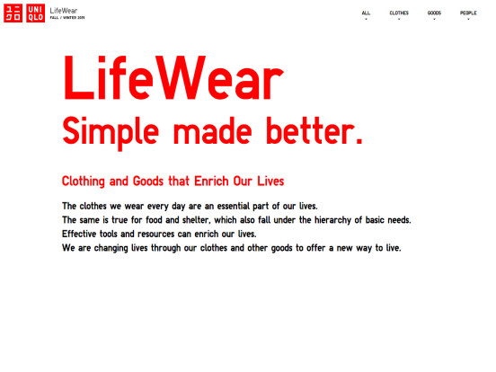 LifeWear Simple made better.  | UNIQLO