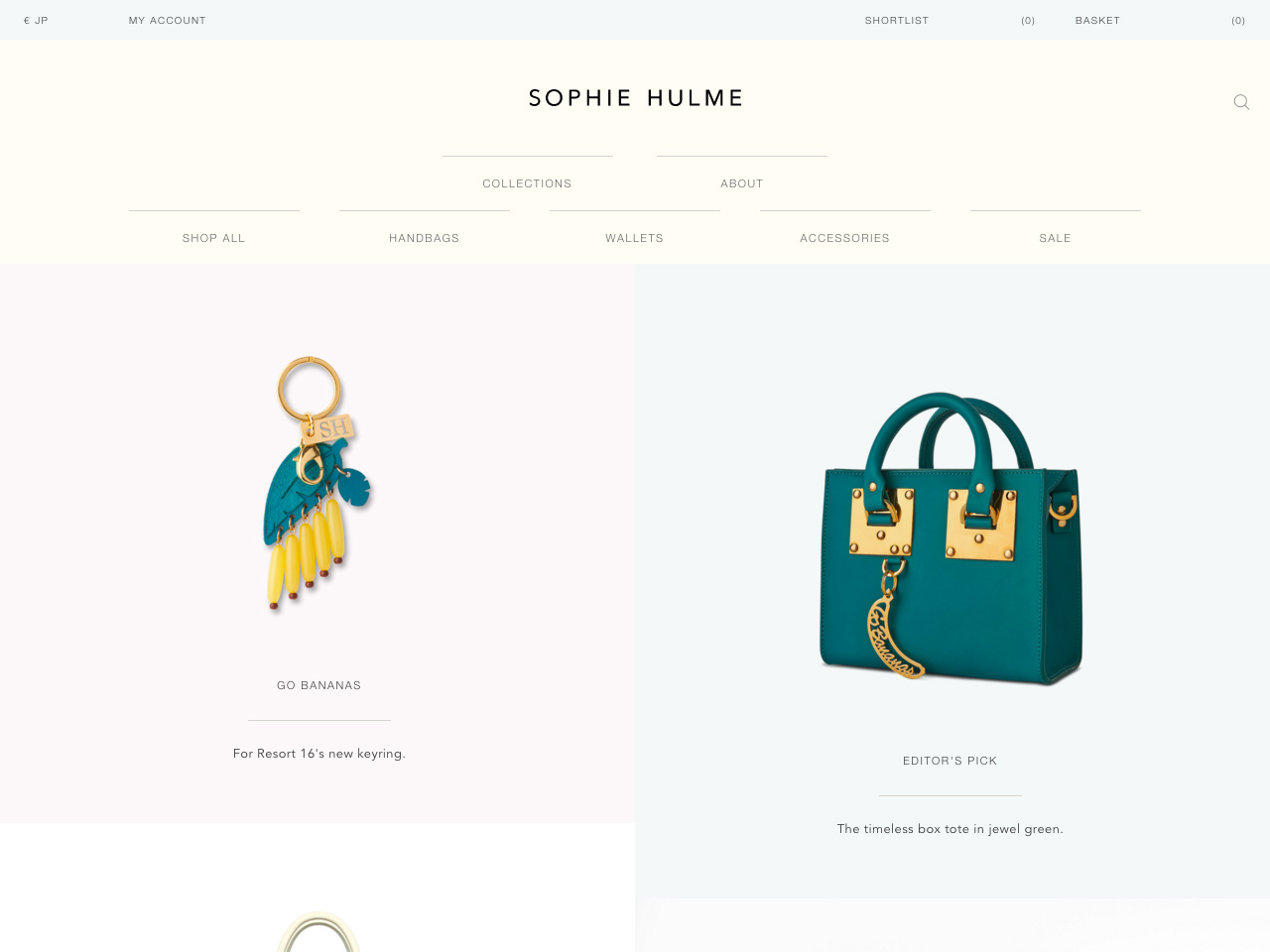 Sophie Hulme | Designer Handbags and Accessories
