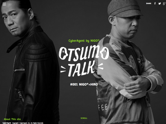 OTSUMO TALK|CyberAgent by NIGO®