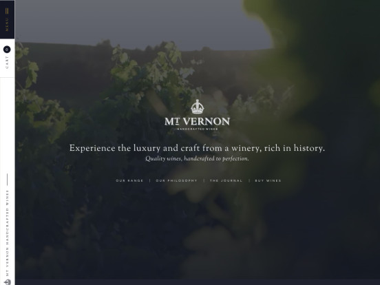 Mt. Vernon | Handcrafted Wines