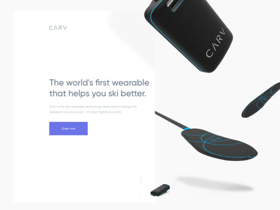 Carv: The world's first wearable that helps you ski better!