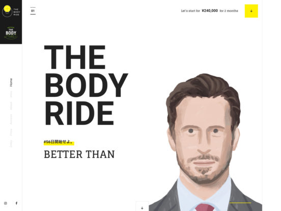 THE BODY RIDE「BETTER THAN」