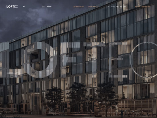 LOFTEC Concept Loft. Official website.