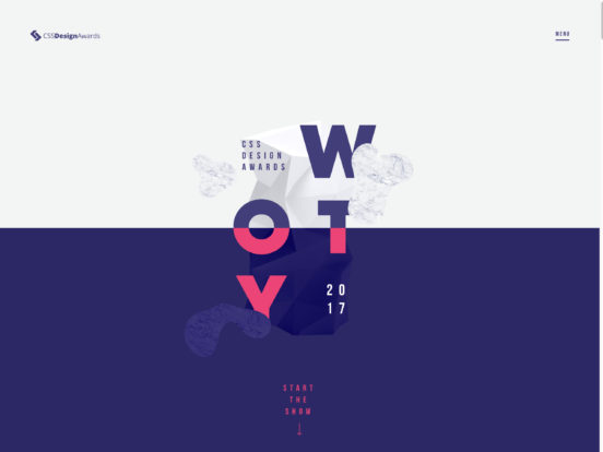 Website of the Year 2017 – CSS Design Awards