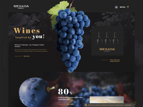 Menada Winery | Estimated 1901.
