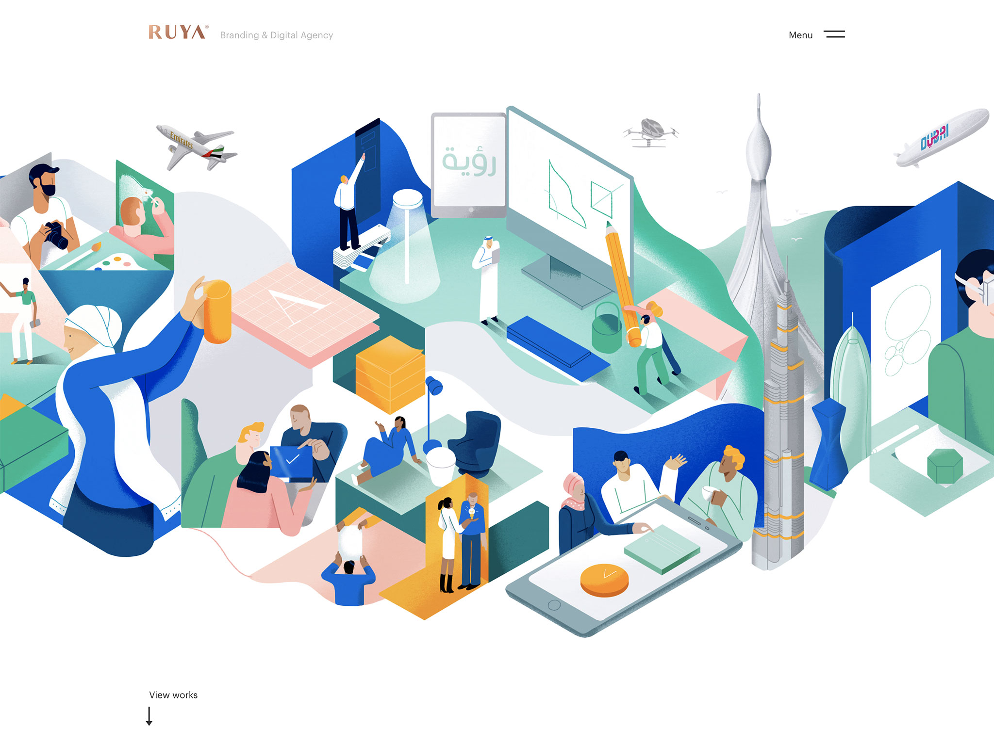 Branding & Digital marketing agency in Dubai | RUYA