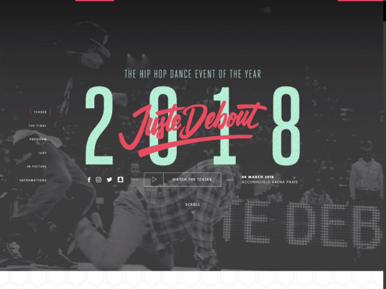 Juste Debout 2018 – The hip hop dance event of the year