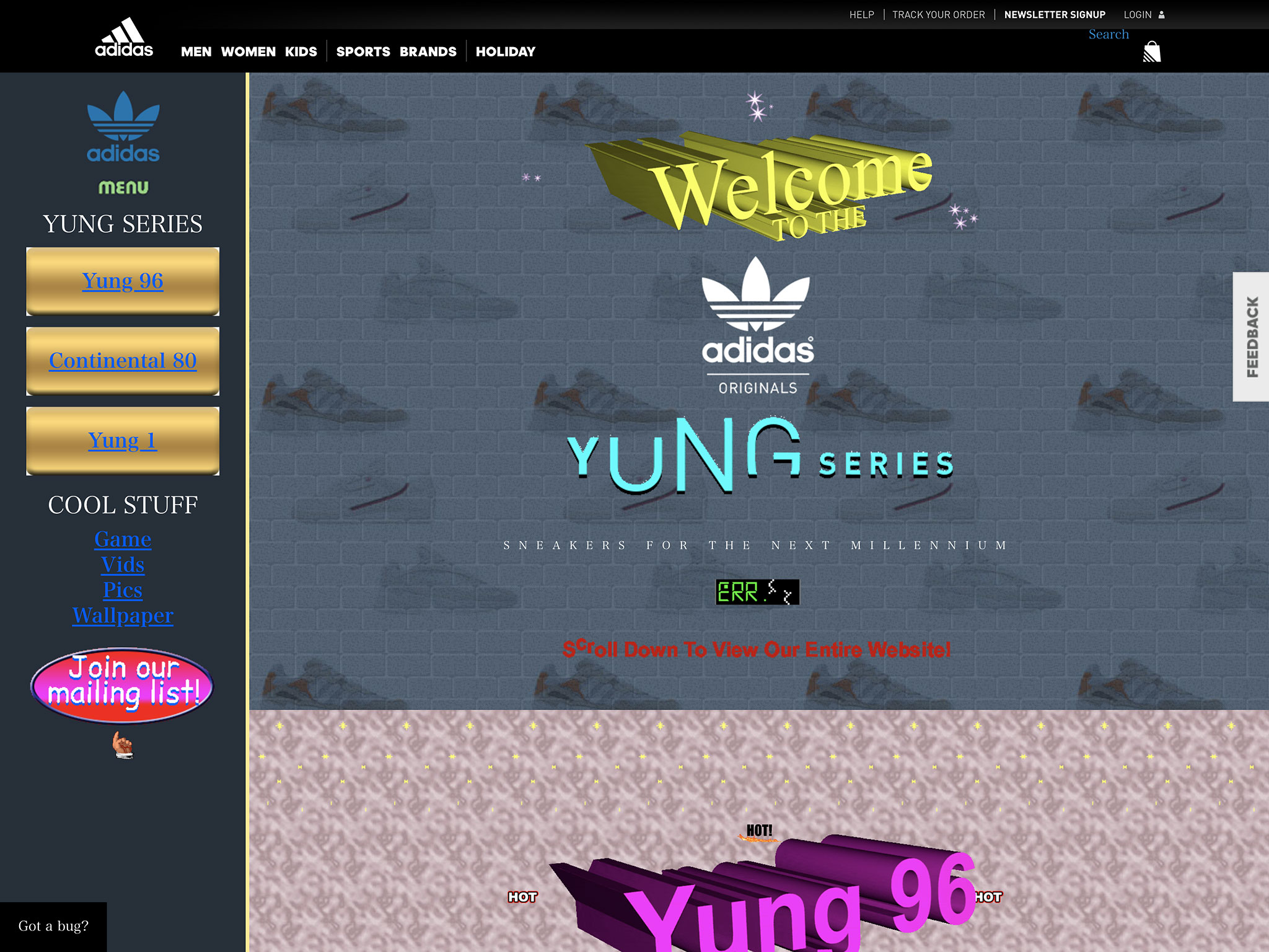 Yung Series Sneakers | adidas US
