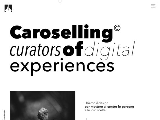 Caroselling | Digital Web Studio | Brand – Design – Marketing | Italia