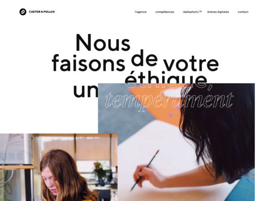 Castor & Pollux | Agence de communication digitale