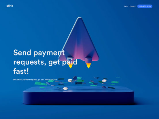 Plink – Create payment links and send them to your clients