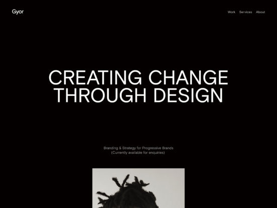 Gyor Moore | Digital Design & Strategy for Equality, Diversity and Change