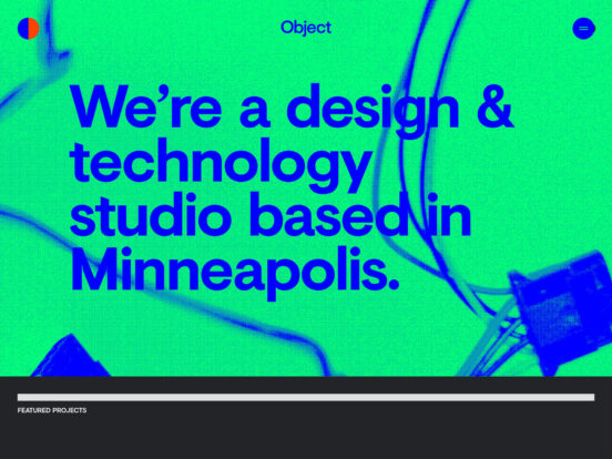 Object | A design & technology studio. | Momentous