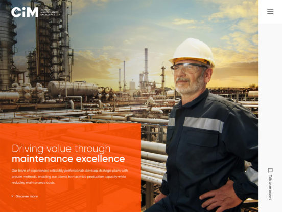 CiM Maintenance | Driving value through maintenance excellence