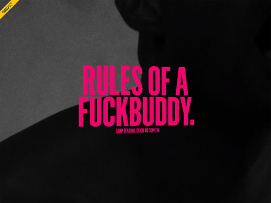 Ending HIV » Rules of a F***Buddy