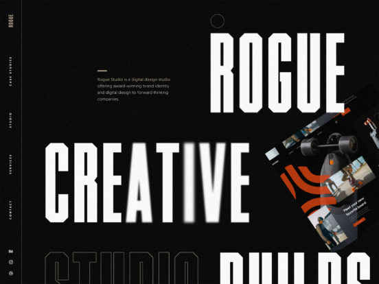 Rogue Studio - Branding & Digital Design Studio