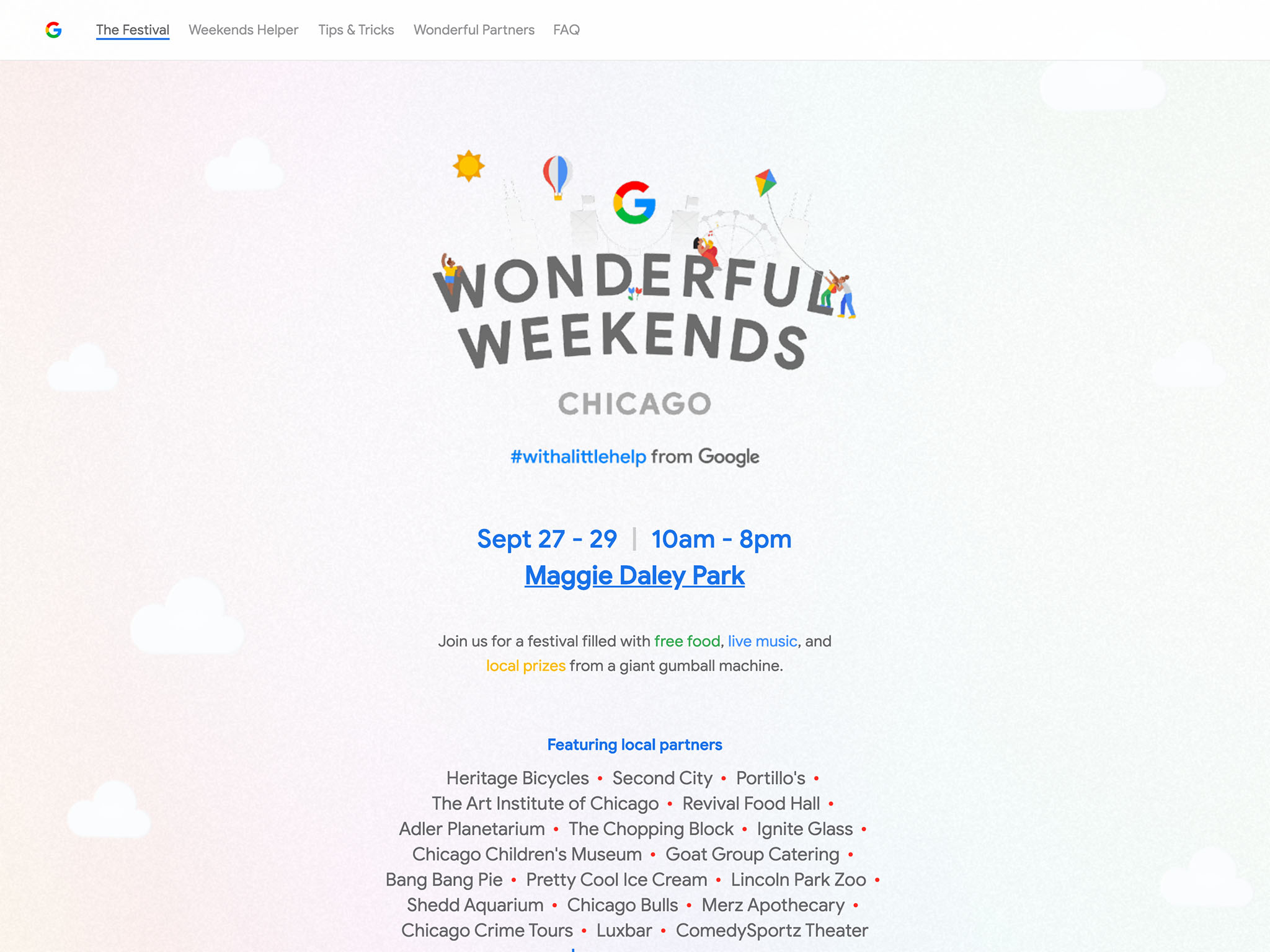 Wonderful Weekends | #withalittlehelp from Google
