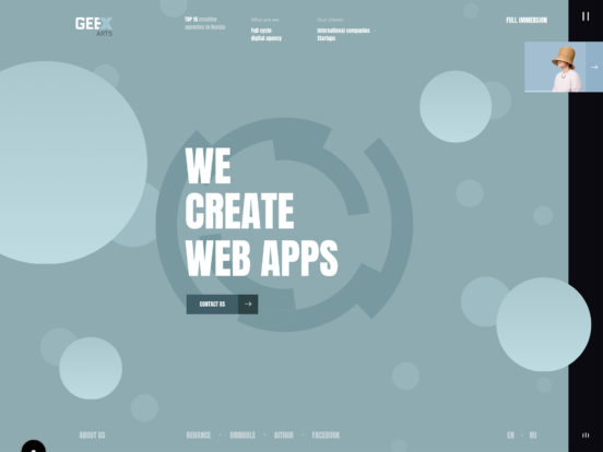 Geex Arts – Creating the Most Impressive Websites