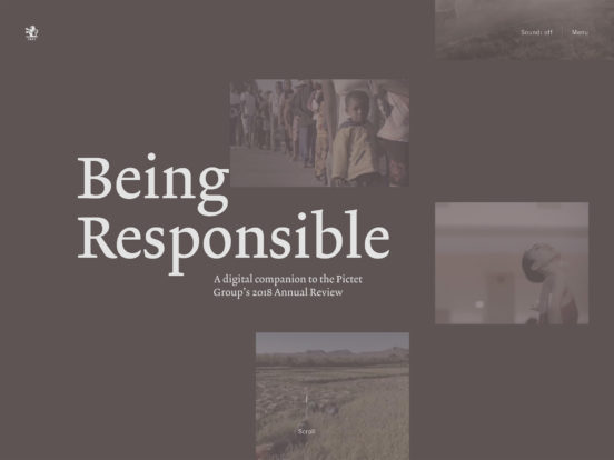 Introduction | Being Responsible | Pictet