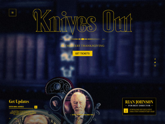 Knives Out – Official Movie Site – In Theaters November 27, 2019