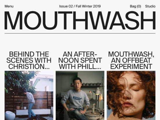Mouthwash — Home