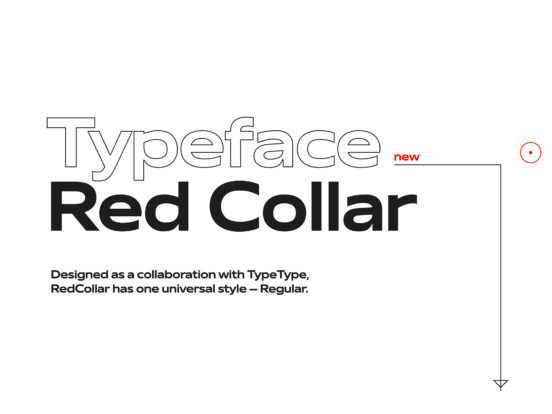Red Collar Font