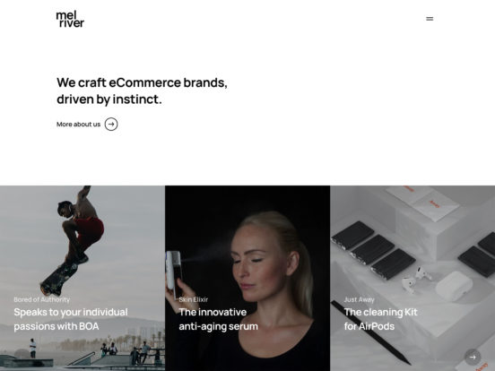 Melriver – We craft eCommerce brands