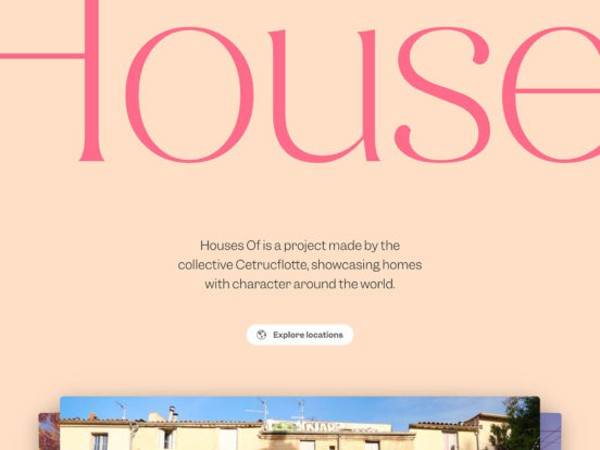 Houses Of - Beautiful houses across the globe