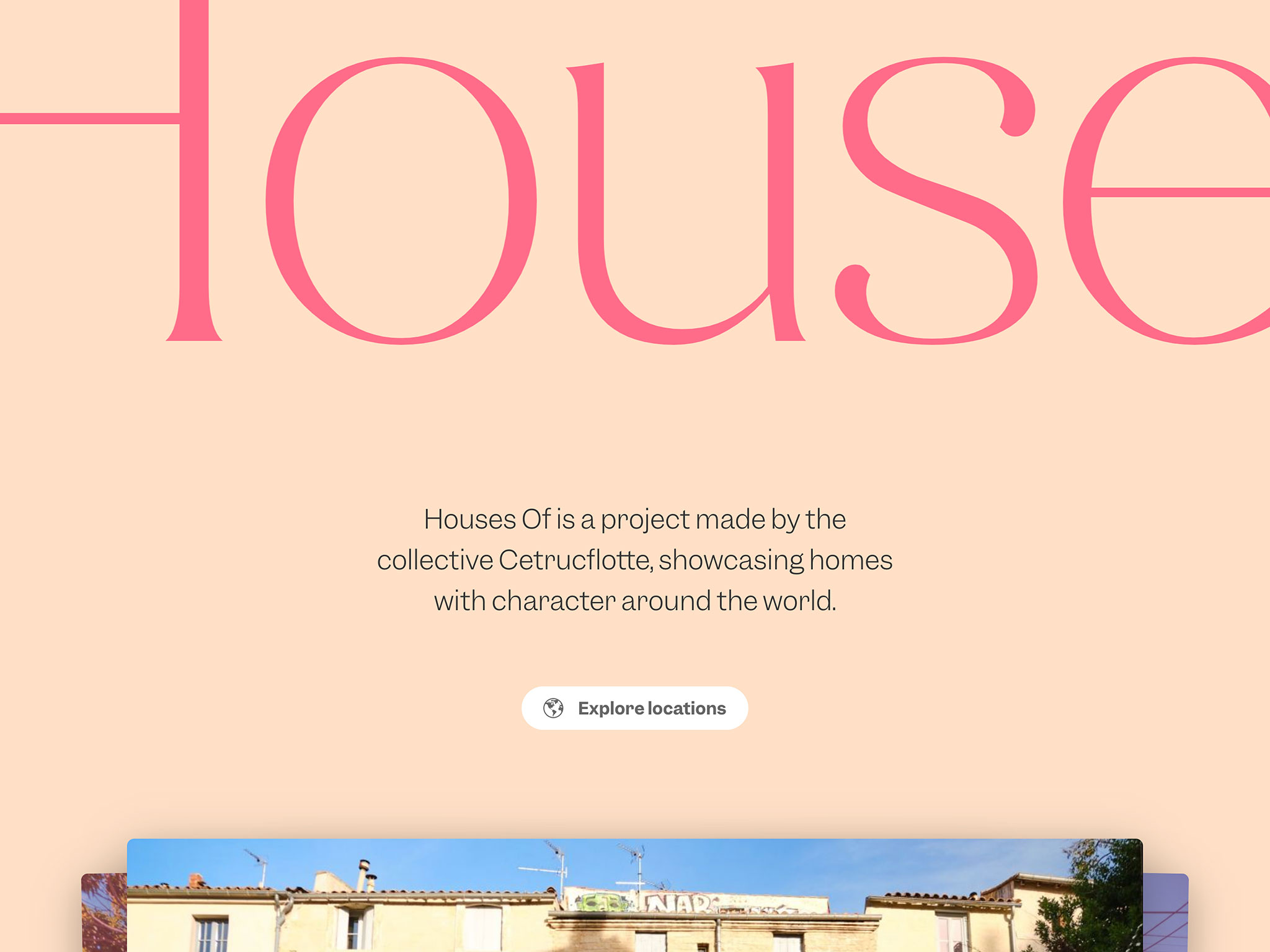 Houses Of – Beautiful houses across the globe