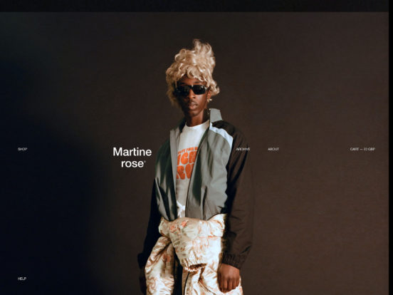 Martine ROSE — some place special