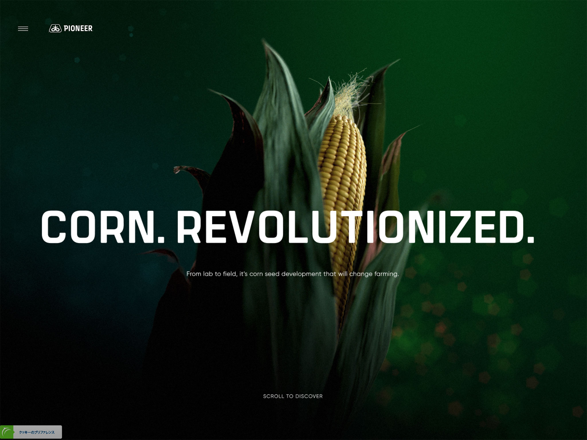 Pioneer – Corn. Revolutionized.