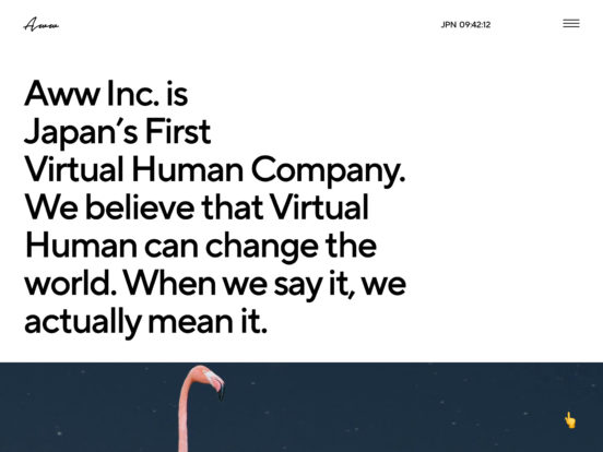 Aww Inc. A Virtual Human Company