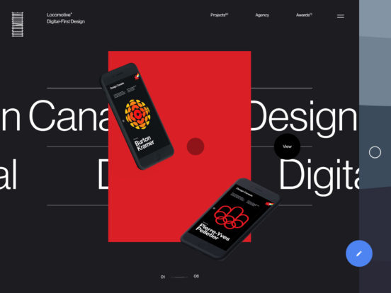 Locomotive — Montreal Web Agency